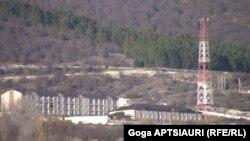რუსეთის მესაზღვრეების სამხედრო ქალაქი არცევში