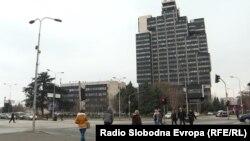 Зградата на Македонска радиотелевизија
