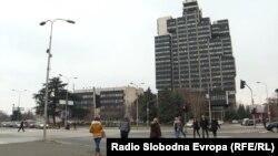 Зградата на Македонска телевизија (МТВ)
