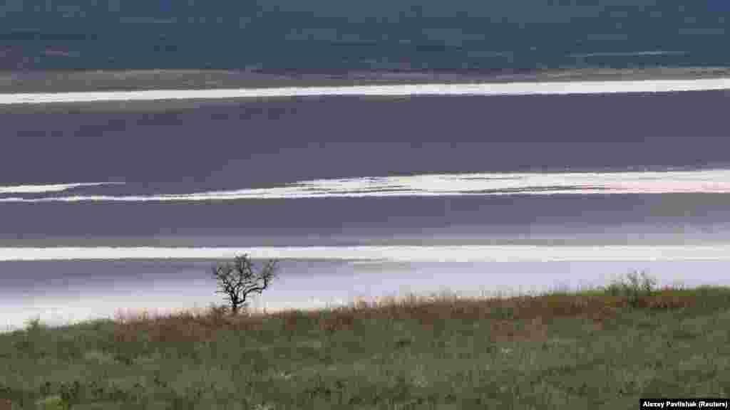Вид на озеро Чокрак