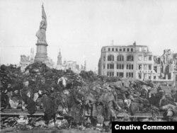 Drezden bombalanmadan sonra