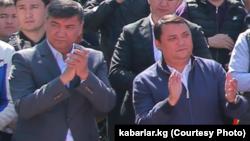 Искендер и Райымбек Матраимовы.