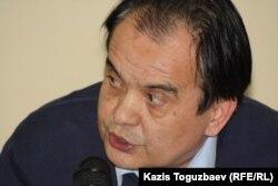 Шавкат Сабиров, политолог. Алматы, 25 февраля 2014 года.
