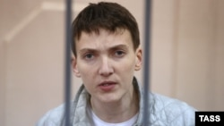 Ukrainian military pilot Nadia Savchenko is one of the imprisoned women being highlighted by the U.S. State Department's new campaign.