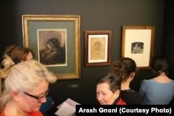 نمایش عمومی آثار کوربه تا اواخر آوریل امسال ادامه خواهد داشت