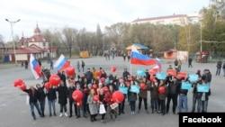 Митинг в поддержку Навального в Кургане