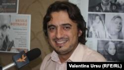 Vitalie Vovc în studioul Europei Libere la Chişinău