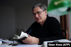 Турецкий писатель Орхан Памук.