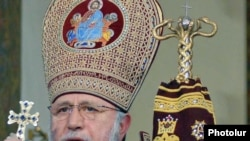 Armenia -- Catholicos Garegin II, supreme head of the Armenian Apostolic Church.