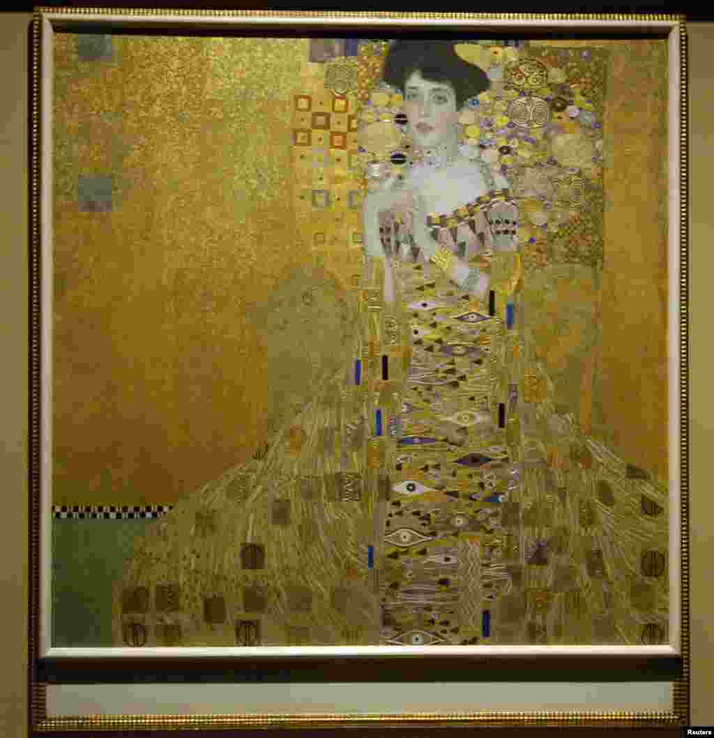 "Austrian Gustav Klimt is another artist whose work sells for huge amounts of money. His 1907 painting ""Adele Bloch-Bauer I"" sold for $135 million in 2006."