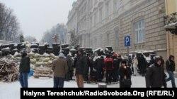 Львівська ОДА, 27 січня 2014 року