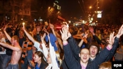 У Донеьку святкують футбольну перемогу