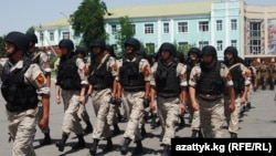 Солдаты кыргызской армии. Иллюстративное фото.