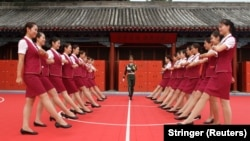 Подготовка к параду в КНР.