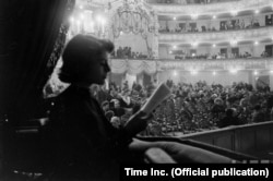 Леонора Гершвин, жена брата композитора и автора либретто «Порги и Бесс» Айры Гершвина
