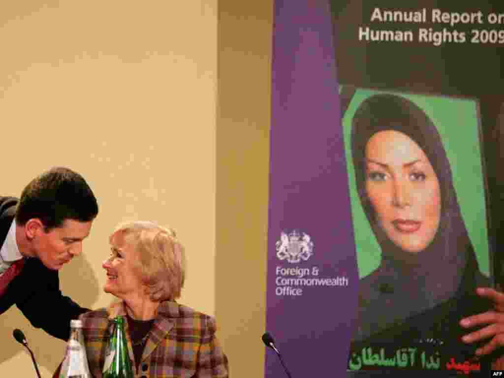 با سیاستمداران (وزیر خارجه سابق بریتانیا)