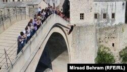 Mostarski Stari most, ilustracija