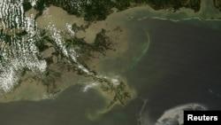 Побережье Луизианы в большой опасности