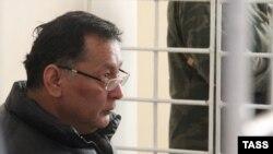 Ахмат Бакиев в суде в Бишкеке. Январь 2011 г