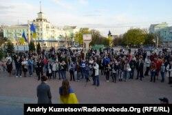 Євромайдан у Луганську, 22 квітня 2014 року