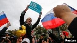 Ընդդիմադիր գործիչ Ալեքսեյ Նավալնիի աջակիցները հերթական հանրահավաքն են անցկացնում Մոսկվայում, արխիվ