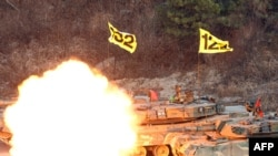 South Korea completed its military drills on December 23, angering the North.