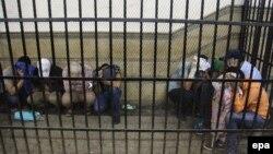 Të burgosurit në Egjipt, në pritje të gjykimit (foto nga arkivi)