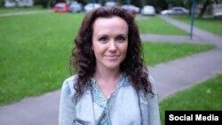 Журналістка Кацярына Сінюк, архіўнае фота