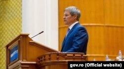 Dacian Cioloș în Parlament