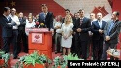 Ranko Krivokapić na sastanku Glavnog odbora SDP