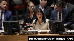 Представитель США в ООН Никки Хейли.