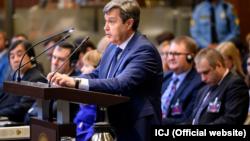 В Международном суде ООН в Гааге выступает представитель России. 3 июня 2019 года
