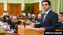 Сын президента Таджикистана Рустам Эмомали.