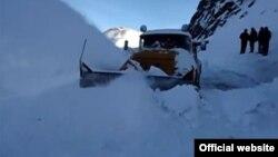 Տեղացած առատ ձյան հետևանքով փակված ավտոճանապարհ Հայաստանում, արխիվ