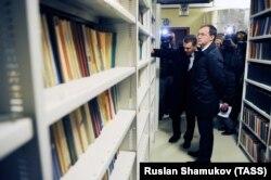 Владимир Мединский в Российской национальной библиотеке