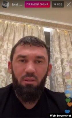 Даудов вышел в прямой эфир Instagram в 3 часа ночи по мск