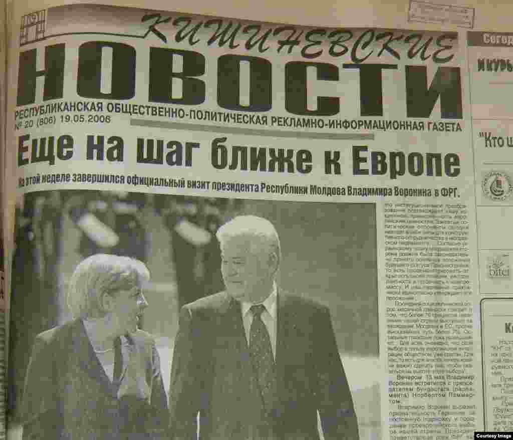"""""""Kişiniovskie novosti"""", 19 mai 2006"""