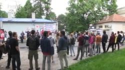"Protest ispred KBC ""Dragiša Mišović"""