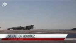 تعقیب ناو هواپیمابر آمریکایی توسط گشتیهای ایران