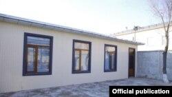 Контейнерный дом главы (хокима) Наманганской области.