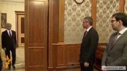 Նախագահն ընդունել է Եվրոպական խորհրդարանի պատգամավոր Ֆրանկ Էնգելին
