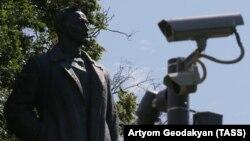 Статуя Феликса Дзержинского в московском Музеоне