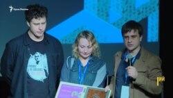«Свободу Сенцову!» На Docudays UA призвали освободить крымского режиссера (видео)
