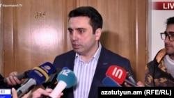 Deputy Parliament Speaker Alen Simonian