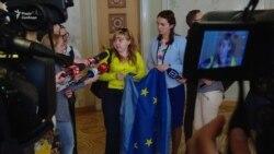 «Україна – це Європа, і це фантастично» – учасниця Євромайдану