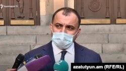 Арман Диланян, Ереван, 12 октября 2020 г.