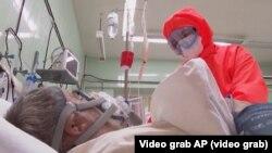 Ситуацијата со ковид инфекции во Русија.