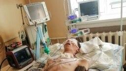 Егор Воронкин в госпитале в Североморске