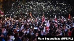 «Свободу Мише» – акция в Тбилиси