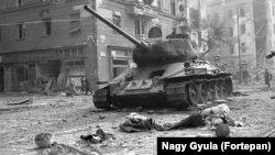 Будапешт в дни восстания